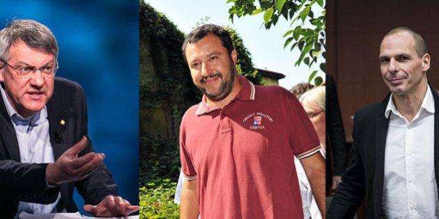 Lega, Yanis Varoufakis e Maurizio Landini invitati alla scuola di formazione politica del
