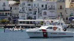 Il porto di Capri finisce in