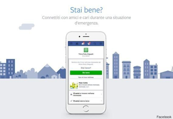 Terremoto Centro Italia, Facebook attiva il Safety Check per far sapere ai propri amici di non essere...
