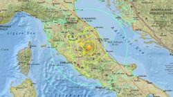 Epicentro ad Accumoli, devastazione in provincia di Rieti: la mappa del