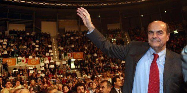 Pierluigi Bersani chiude la festa dell'Unità di Bologna. Non sarà Renzi, come vuole la