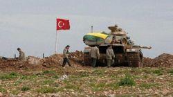 Tank e soldati turchi in Siria contro l'Isis e i