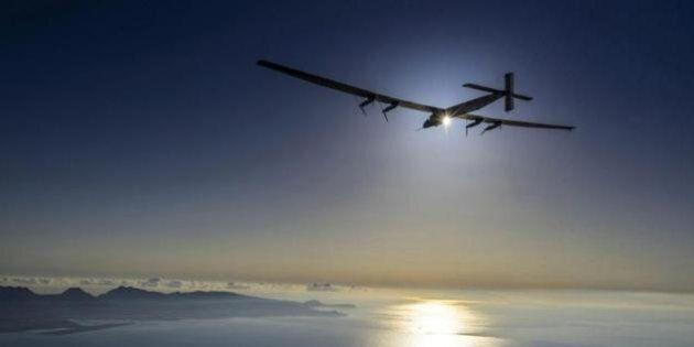 Il volo sul Pacifico del Solar Impulse, l'aereo spinto a energia