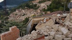 Pescara del Tronto è stata rasa al suolo dal