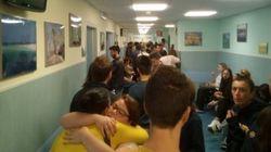 Decine di persone in fila all'ospedale di Rieti per donare sangue:
