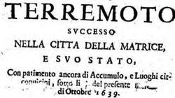 Quando la storia si ripete: 400 anni fa Amatrice e Accumoli distrutte da un altro