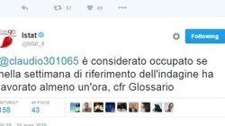 Il tweet dell'Istat innesca la polemica: