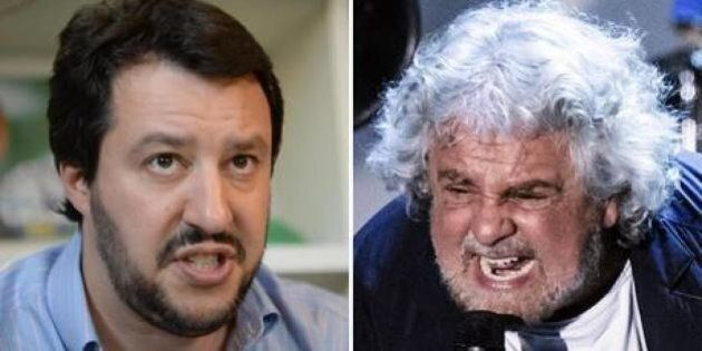 Immaginate Berlusconi, Salvini e Grillo