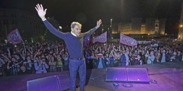 Napoli, Gianni Lettieri si smarca da Forza Italia, cerca voti nel campo grillino e attacca