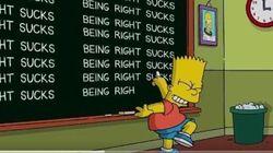I Simpson mettono la parola