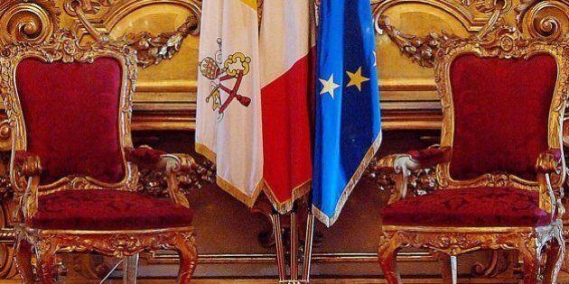 Le unioni civili piombano sul vertice Italia-Vaticano del 23 febbraio. Un monocolore Dc in una Chiesa...