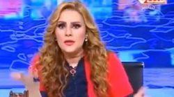 La presentatrice egiziana: