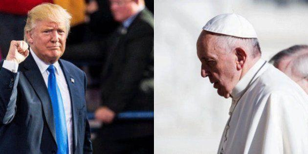 Trump e Bergoglio: l'America più a destra di sempre versus la Chiesa più a sinistra di