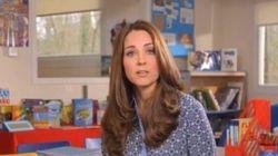 Kate parla ai bambini con malattie mentali:
