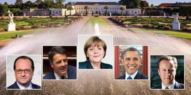 Vertice anti muri nell'Europa dei muri. Obama: