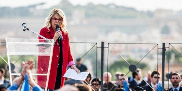 Rita Dalla Chiesa difende i gay, ai fischi rispondiamo con il Colosseo