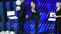 Lo show di Totti a Sanremo dimostra che è lui il vero