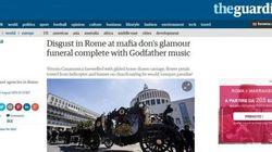 Funerale Casamonica: la notizia sui giornali stranieri (FOTO,