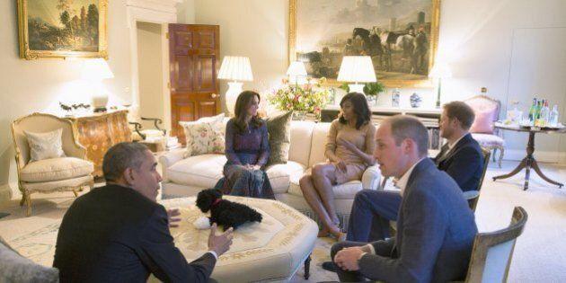 Il quadro di Kensington Palace che i reali hanno coperto per non offendere la famiglia
