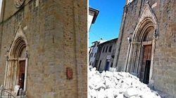 Chiese e centri storici, il terremoto devasta anche