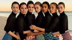 I dettagli controversi della copertina di Vogue Usa con le 7 top model del