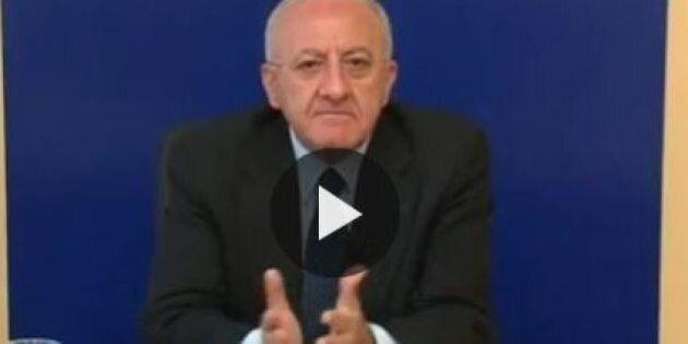 Caso Mastursi, Vincenzo De Luca ostenta tranquillità per le dimissioni del suo braccio destro. Ma i suoi...