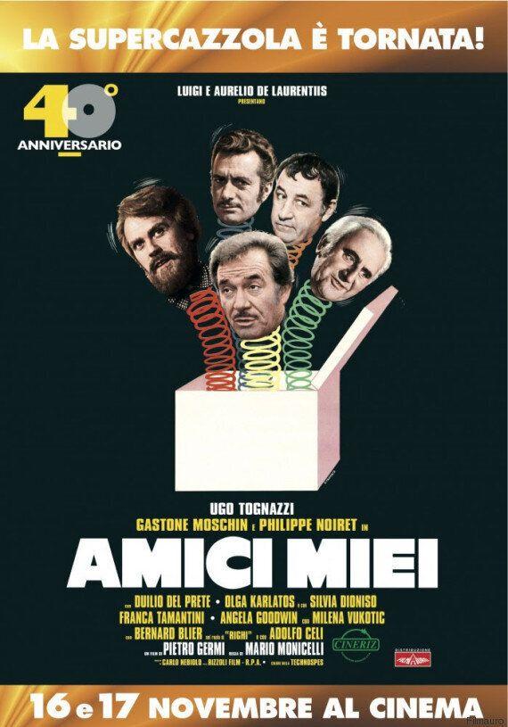 'Amici miei', compie 40 anni e torna al cinema. In sala le zingarate che hanno fatto storia della commedia...