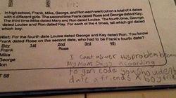La risposta di questa bambina al compito di matematica è un inno