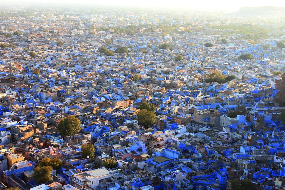 A trip to Rajasthan will leave you in a daze of colours - When I visited Jodhpur, I wanted to capture this colour and there w
