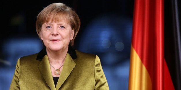 BERLIN, GERMANY - DECEMBER 30:  (EMBARGOED FOR ALL PUBLICATIONS UNTIL DECEMBER 31, 2013 AT 00:01 CET) German Chancellor Angel