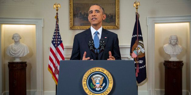 WASHINGTON, DC - DECEMBER 17:  U.S. President Barack Obama speaks to the nation about normalizing diplomatic relations the Cu