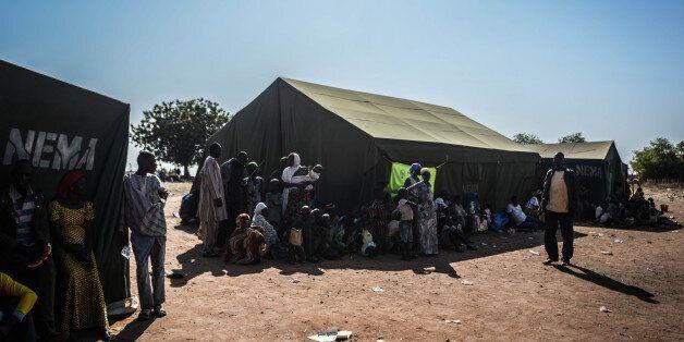 ADAMAWA, NIGERIA - DECEMBER 6:  Nigerians fled their homes in Yobe, Borno states due to the clashes between Nigeria's militan