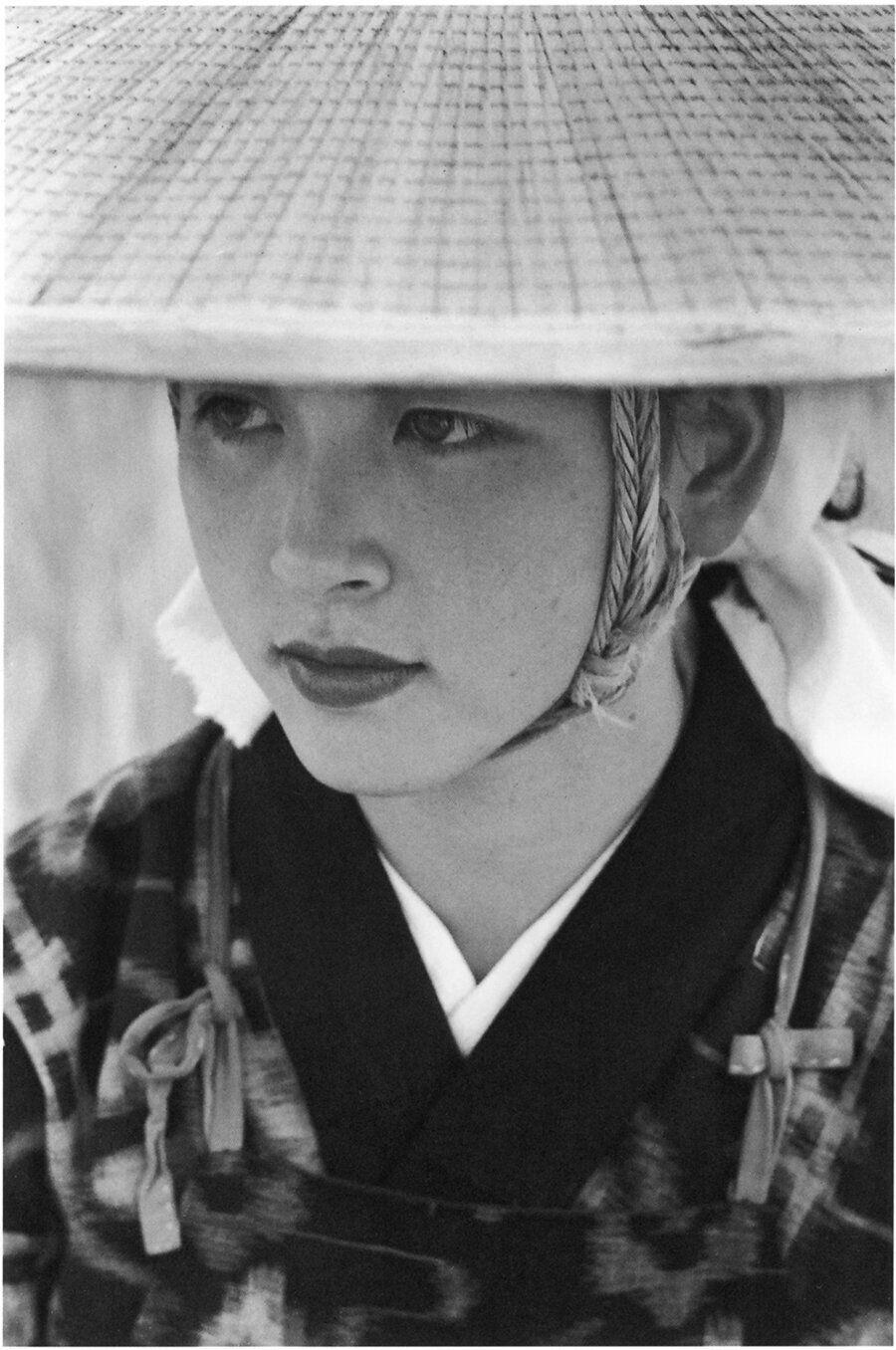 Young woman. Omagari, Akita, 1953.