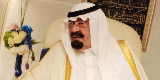 CAIRO, EGYPT - (ARCHIVE) A file photo dated 21 June 2014 shows Saudi King Abdullah bin Abdelaziz in Cairo, Egypt. Saudi King