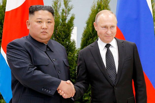 김정은 위원장과 푸틴 대통령이 만났다
