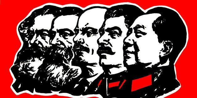 Marx, Engels, Lenin, Stalin, Mao