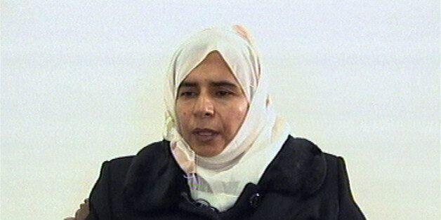 Iraqi Sajida Mubarek Atrous al-Rishawi  confesses on Jordanian state run TV. Sunday Nov. 13, 2005  about her failed bid to se