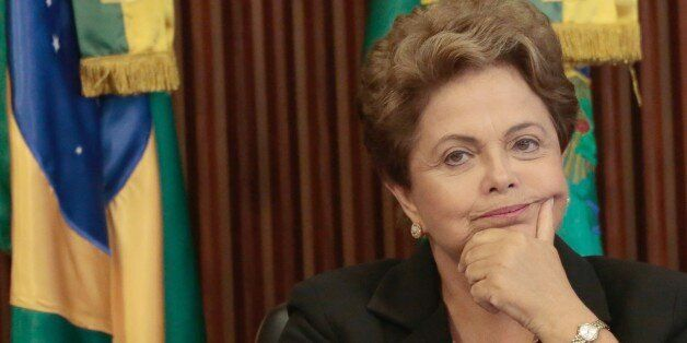 Brazil's President Dilma Rousseff  participates in the 16th meeting of the National Council for Industrial Development (CNDI)