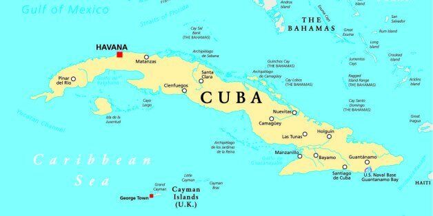 Us Takes A Positive Negative Approach To Trade With Cuban - Us-cuba-map