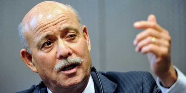 US economist Jeremy Rifkin, author of 'the Third Industrial Revolution', gives a press conference, on November 14, 2012, as p