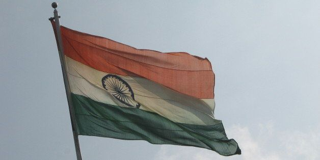 On my way back from Chennai earlier today, I got to see and capture the Indian flag - the largest that I have seen - at Sripe