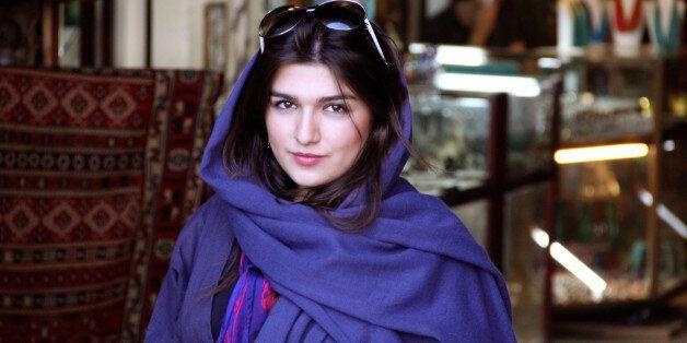 This 2011 photo provided by the Free Ghoncheh Campaign, shows Iranian-British Ghoncheh Ghavami in Isfahan, Iran. Ghavami deta