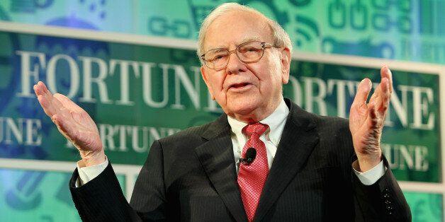 WASHINGTON, DC - OCTOBER 16:  Warren Buffett speaks onstage at the FORTUNE Most Powerful Women Summit on October 16, 2013 in