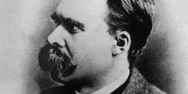 German existentialist philosopher Friedrich Nietzsche is seen in an undated photo.  Nietzsche contends that Christianity's em
