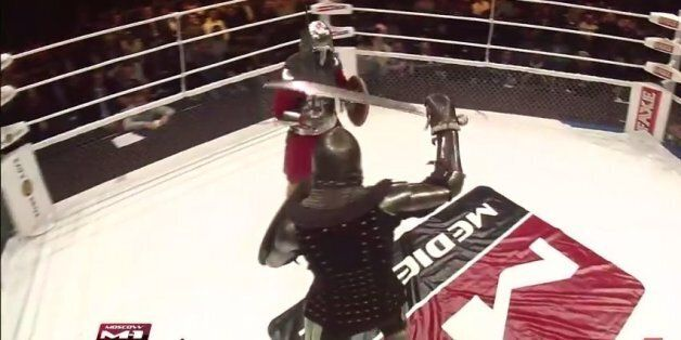Watch Two Knights Fight Each Other For Sport In Russia | HuffPost