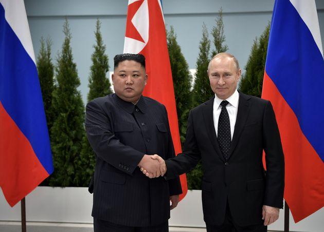 Δέσμευση Πούτιν- Κιμ Γιονγκ Ουν για καλύτερες σχέσεις Ρωσίας- Βόρειας