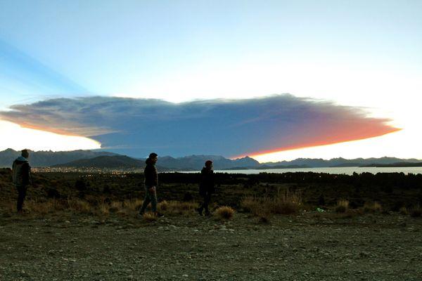 Θέα από τη λίμνη  Nahuel Huapi στην επαρχία  Rio Negro, 1570 χιλιόμετρα  νοτιοδυτικά του  Buenos Aires