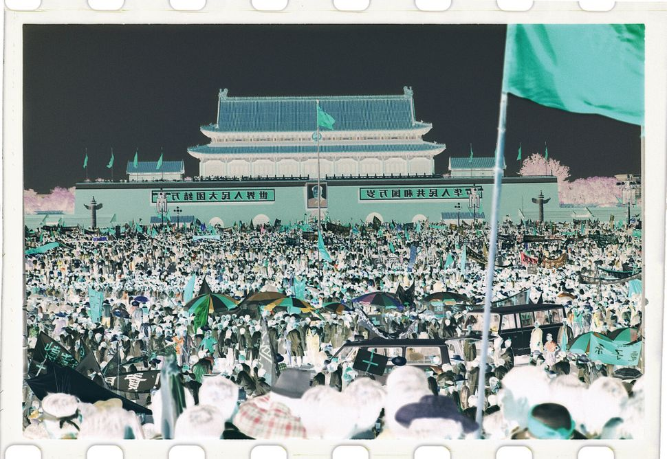 June 4, 1989, Tiananmen Square, Beijing, China.