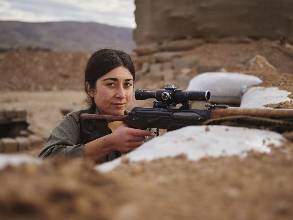 Tekoshin, PKK Sniper, Makhmour, Iraq.