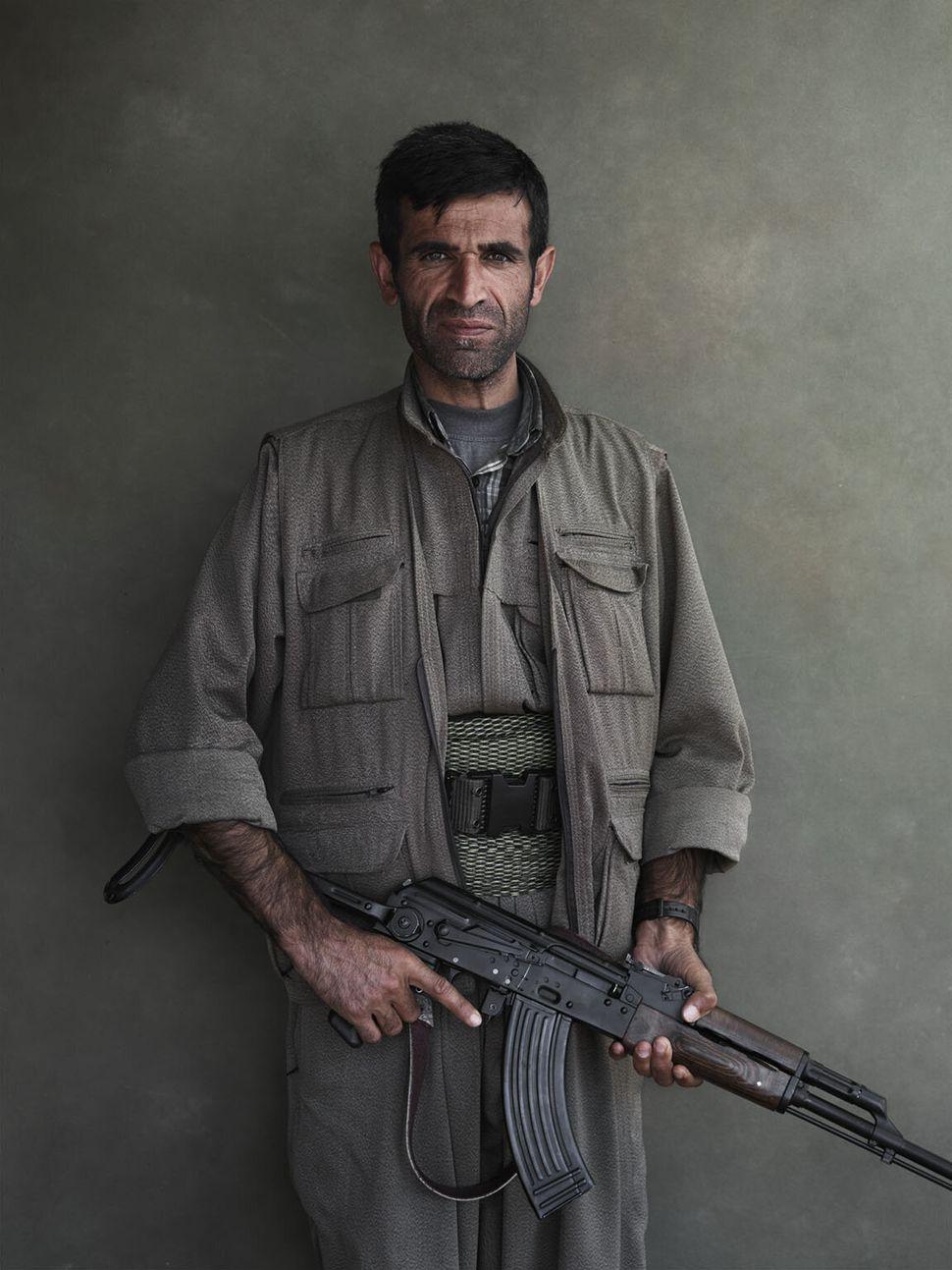 PKK member Rukal.